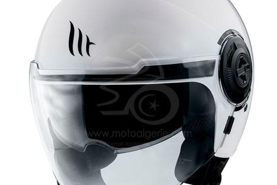 MT Helmets VIALE SV GLOSS PEARL WHITE