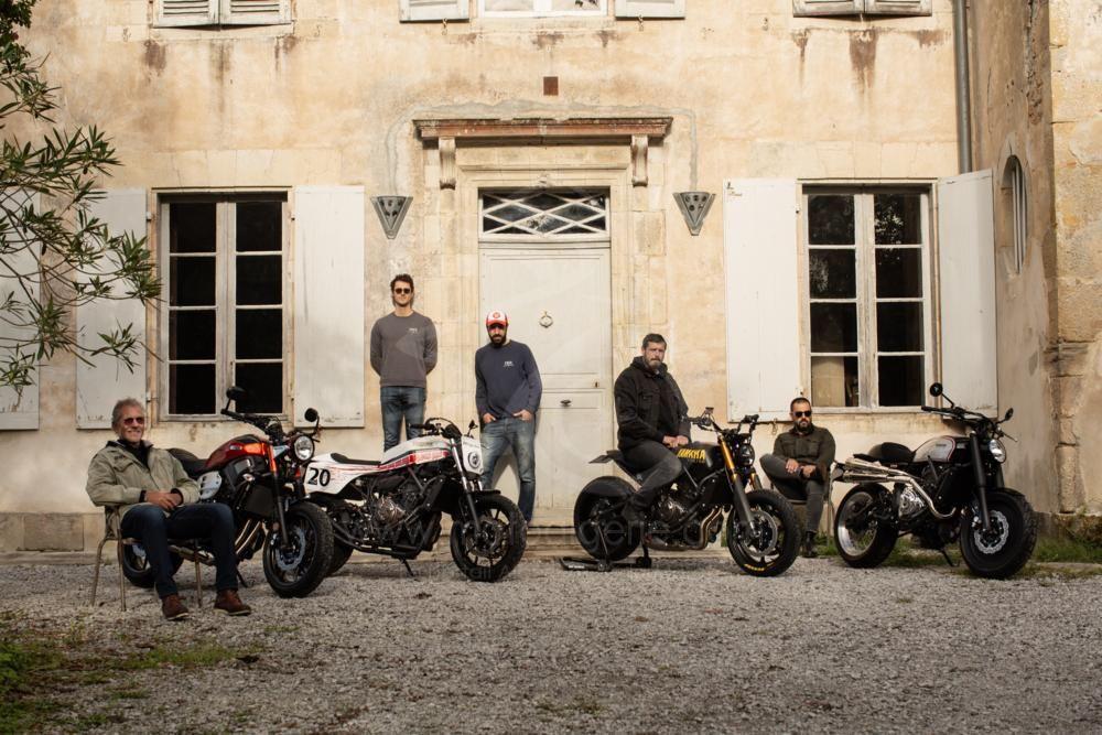Yamaha Yard Built : Back to the Drawing Board présente les quatre Top Designs