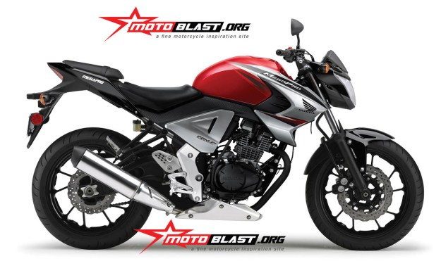 honda new megapro 2014 streetfighter
