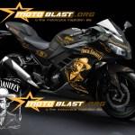 modif striping kawasaki ninja 250r FI black - jack daniel4