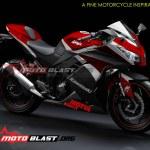 modif striping kawasaki ninja 250r FI black1