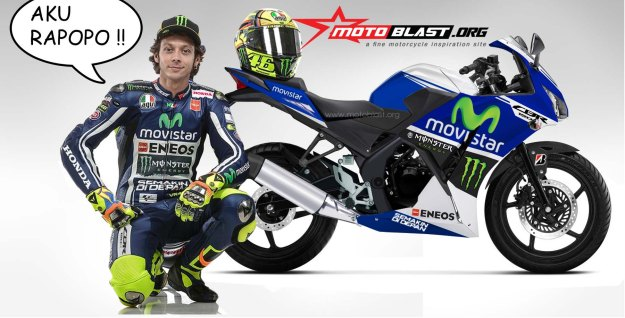 cbr150r indonesia movistar valentino rossi