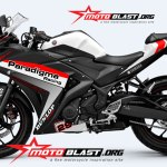 YAMAHA R25 BLACK-WHITE-PARADIGMA RACING3
