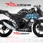 CBR-150R LOKAL-BLACK-AVENGED SEVENFOLD1