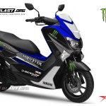 motor-yamaha-nmax-blue monster