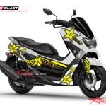 modifikasi Yamaha NMAX WHite ROCKSTAR