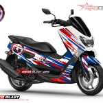 Modifikasi NMAX CAPTAIN AMERICA