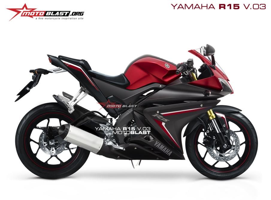 render Next new Yamaha R15 V.3