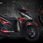 1- VARIO 150 BLACK THUNDER RED