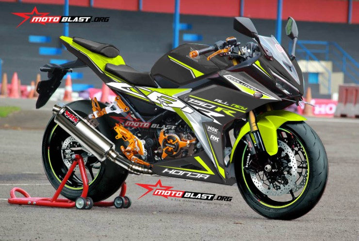 ALL NEW CBR150R SUPER MODIF motoblast