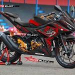 CBR150R BLACK KANJI DRAGON motoblast