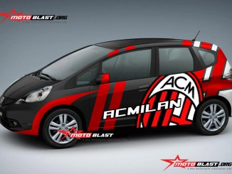Modifikasi HONDA JAZZ-ACMILAN