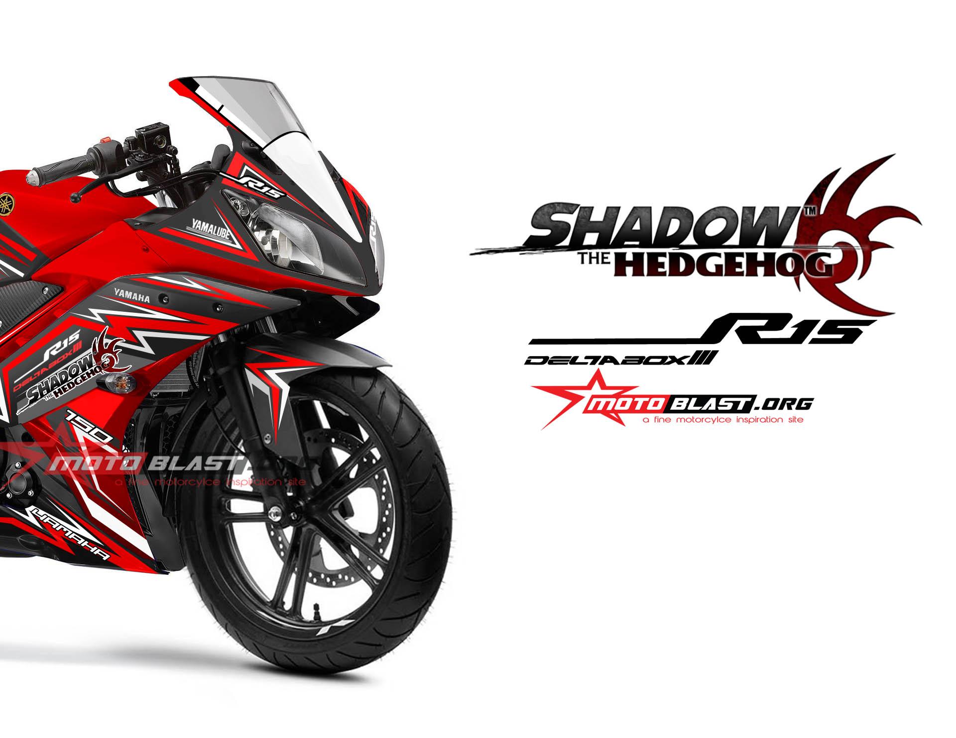 R15 RED SHADOW HEDGEHOG motoblast