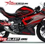 RR MONO BLACK HI TECH motoblast
