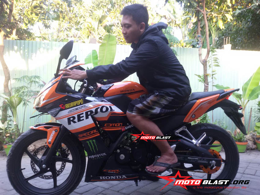modifikasi honda cbr150r black - repsol3