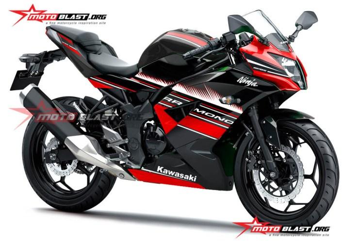1-RR MONO WSBK BLACK RED
