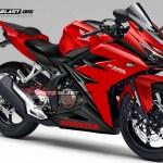 CBR250RR - MASSPRO-RED CANDY