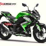 Z250R-BLACK SPORTY GREEN