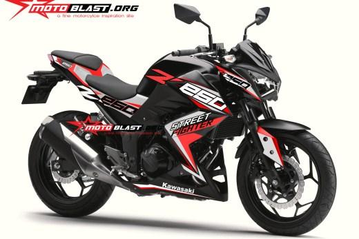 Z250R-BLACK SPORTY RED1