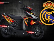 1- VARIO 150 WHITE - REAL MADRID-MOTOBLAST3