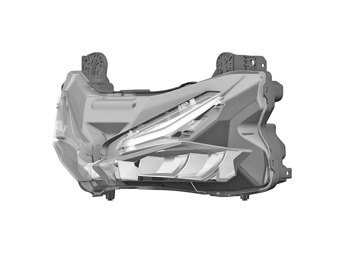 HOT!!!Honda patent kan desain Headlamp untuk calon CBR250RR . ini dia sosoknya.