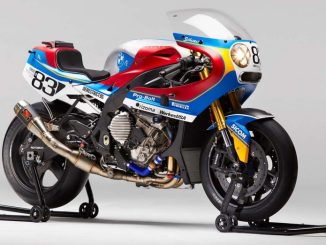 BMW S1000RR VINTAGE RACING CUSTOM 80 AN-3