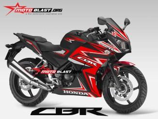 CBR250R BLACK THUNDER1