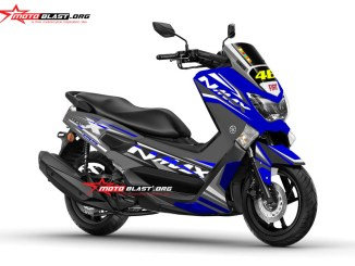 NMAX BLUE RACING GREY1