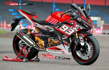Graphic Kit Honda All New CBR150R RED MM93 Project