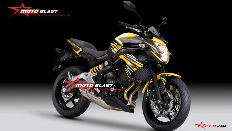 ER6N THUNDER2-yellow
