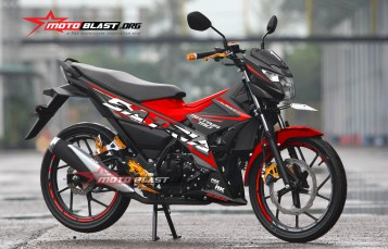 Graphic Kit Suzuki Satria FU 150 Fi RED Edition