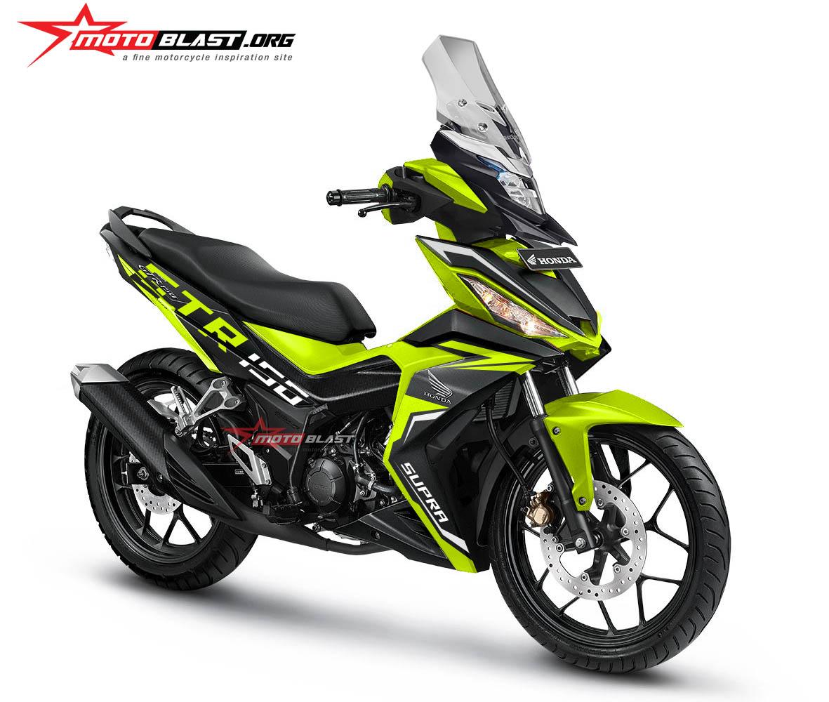 Modifikasi Honda Supra GTR150 Sang Bebek Adventure Style MOTOBLAST