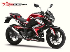 Z250R-BLACK SPORTY-RED