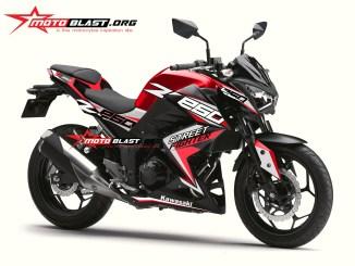 Z250R-BLACK SPORTY-RED
