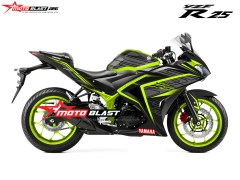 yamaha R25-TECHNO-YELOW