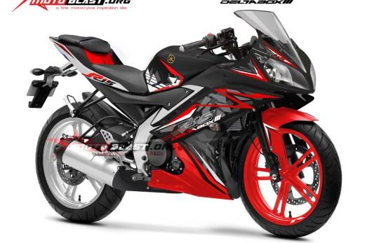 R15 BLACK SPIRIT RED