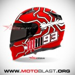 HELMET ANT-MM93-RED2