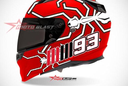 HELMET ANT-MM93-RED2