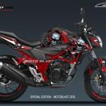 NEW CB150R SE-SKULL-MOTOBLAST