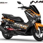NMAX BLACK ALA KTM RC-ORANGE