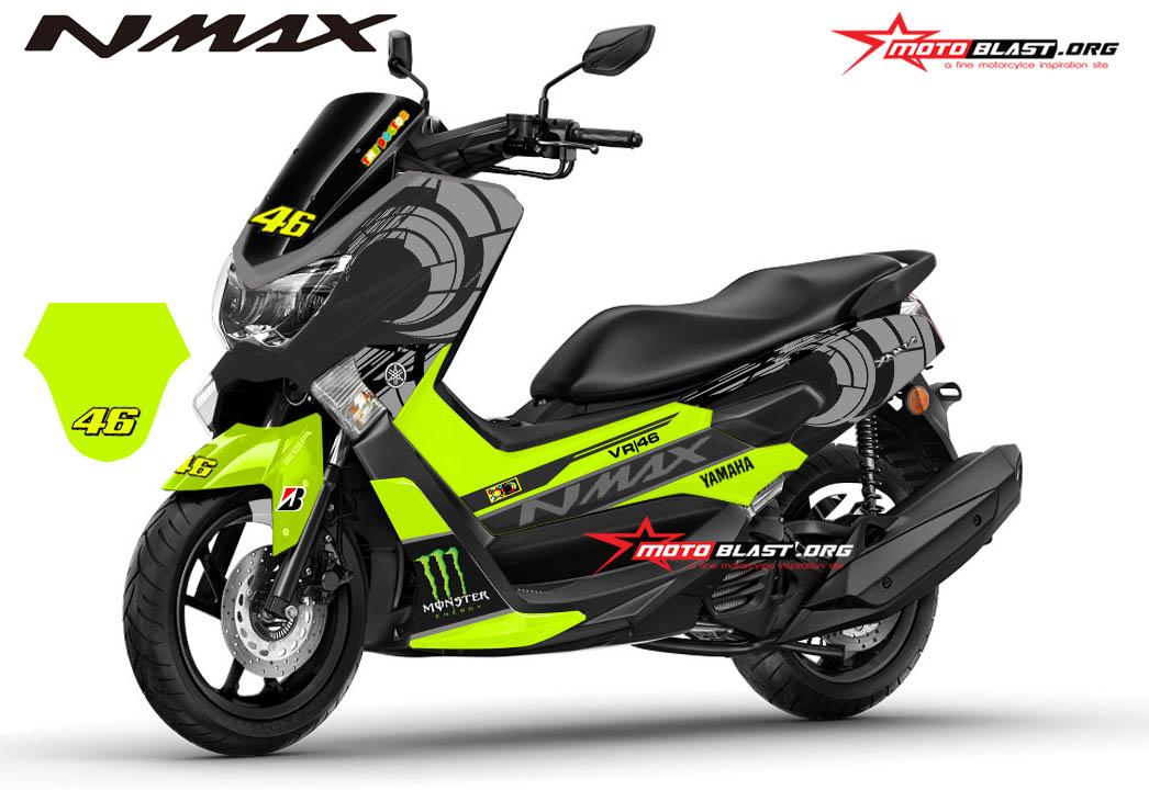 24 Stiker Buat Motor Nmax Trend Masa Kini