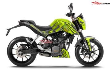 Decal stiker Fullbody/Non Full untuk KTM Duke series ( 125 – 200 – 250 – 390 ) Sudah Available di Motoblast. Berikut Harga nya
