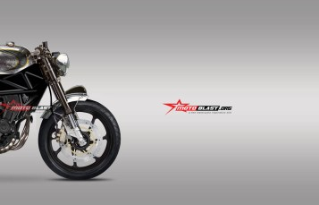 Classic Retro – Modifikasi Honda New CBR250RR Classic Cafe Racer part 2