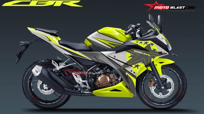 ALL NEW CBR150R WHITE STAR FLUO