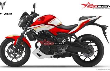 Modifikasi MT-25 Red Terbaru striping Red White Elegan