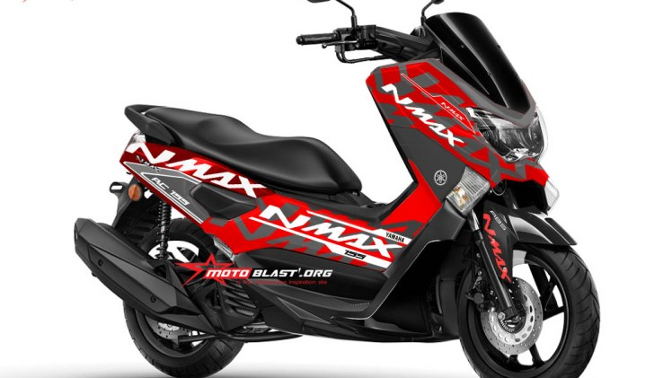 NMAX RED ALA KTM RC