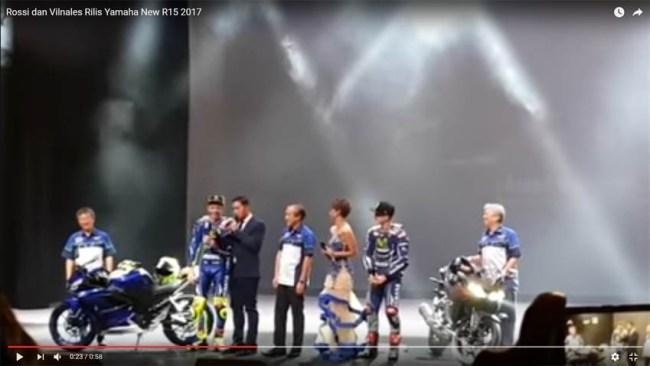 Inilah Video Penuturan Rossi Bahwa Yamaha R15 Konfirm memakai Slipper clutch