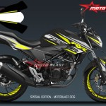 1 NEW CB150R BLACK YELLOW RACE