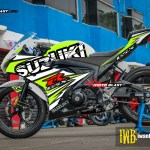 GSX-R150 - PUZZLE WHITE GREEN LIME
