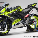 R15 NEW 2017- BLACK DUCATI TRICOLOR GREEN LIME2